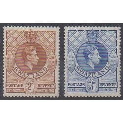 Swaziland - 1938 - Nb 30/31