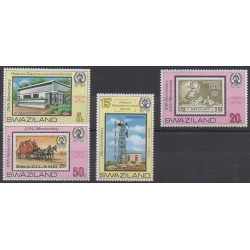 Swaziland - 1979 - Nb 327/330 - Postal Service - Stamps on stamps