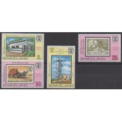 Swaziland - 1979 - Nb 327/330 - Postal Service - Stamps on stamps