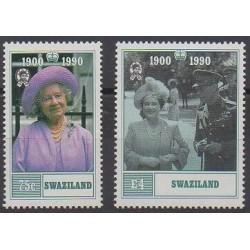Swaziland - 1990 - No 565/566 - Royauté - Principauté