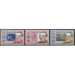 Swaziland - 1979 - No 319/321 - Timbres sur timbres