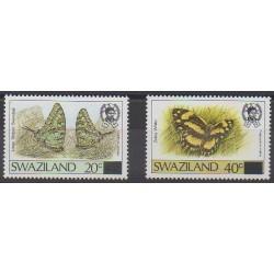 Swaziland - 1990 - No 576/577 - Insectes