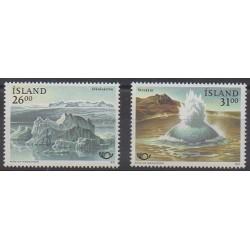 Islande - 1991 - No 697/698 - Tourisme