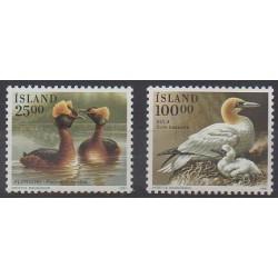Islande - 1991 - No 691/692 - Oiseaux
