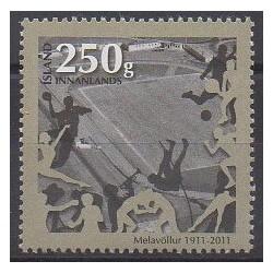 Islande - 2011 - No 1249 - Sports divers