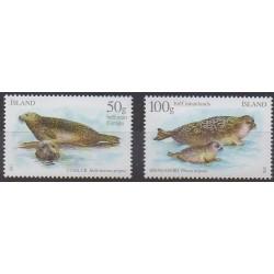 Islande - 2011 - No 1229/1230 - Mammifères - Animaux marins
