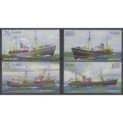Iceland - 2010 - Nb 1194/1197 - Boats