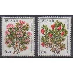 Iceland - 1984 - Nb 572/573 - Flowers