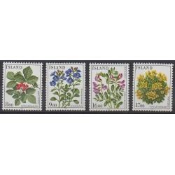 Islande - 1985 - No 581/584 - Fleurs