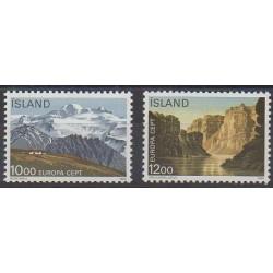 Islande - 1986 - No 601/602 - Environnement - Europa
