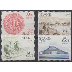 Iceland - 1986 - Nb 607/610