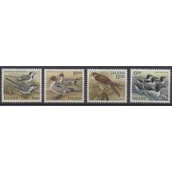 Islande - 1986 - No 597/600 - Oiseaux
