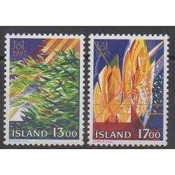 Iceland - 1987 - Nb 631/632 - Christmas