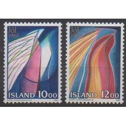 Islande - 1986 - No 614/615 - Noël