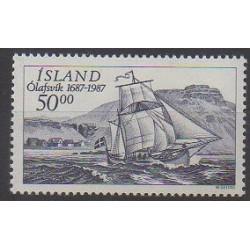 Iceland - 1987 - Nb 616 - Boats
