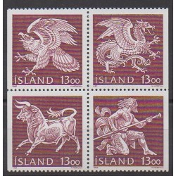 Iceland - 1987 - Nb 626/629 - Coats of arms