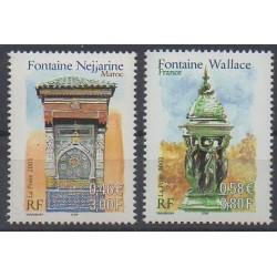 France - Poste - 2001 - No 3441/3442 - Monuments