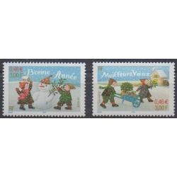 France - Poste - 2001 - No 3437/3438