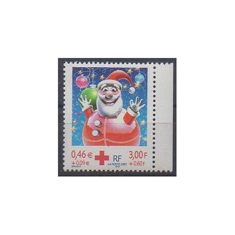 France - Poste - 2001 - No 3436a - Santé ou Croix-Rouge
