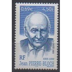 France - Poste - 2001 - No 3434 - Célébrités