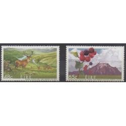 Irlande - 2005 - No 1652/1653 - Parcs et jardins
