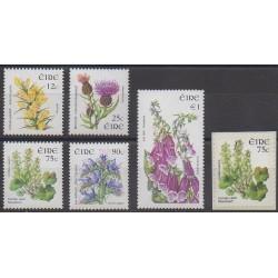 Ireland - 2006 - Nb 1693/1697 - 1703 - Flowers