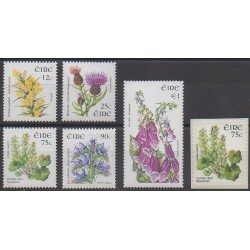 Irlande - 2006 - No 1693/1697 - 1703 - Fleurs