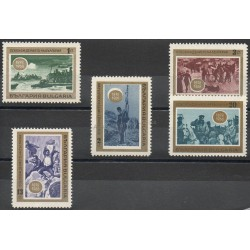 Bulgaria - 1968- Nb 1571/1575 - History