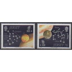 Jersey - 2009 - No 1462/1463 - Astronomie