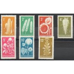 Bulgaria - 1965- Nb 1334/1340 - Flora