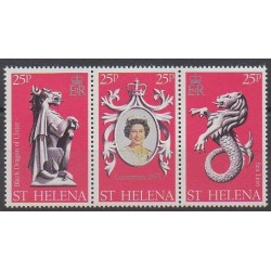 Sainte-Hélène - 1978 - No 303/305 - Royauté - Principauté