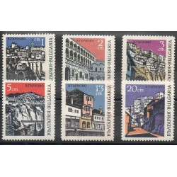 Bulgaria - 1967- Nb 1556/1561 - Monuments