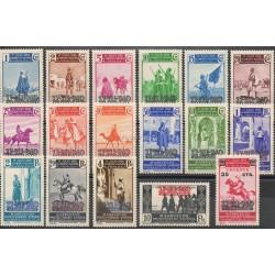 Maroc espagnol- 1940 - No 318A/318R