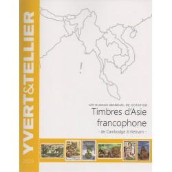 Timbres d'Asie francophone : de Cambodge à Vietnam (Edition 2019)
