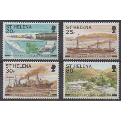 Sainte-Hélène - 1999 - No 739/742 - Navigation