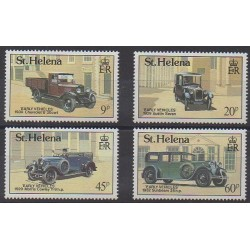 Sainte-Hélène - 1989 - No 513/516 - Voitures