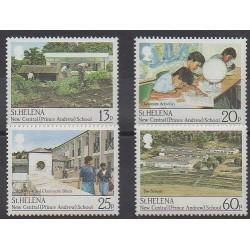 Sainte-Hélène - 1989 - No 505/508 - Enfance