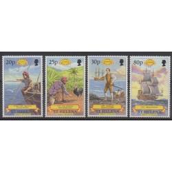 St. Helena - 1977 - Nb 691/694 - Various Historics Themes