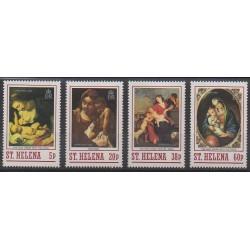 Sainte-Hélène - 1988 - No 487/490 - Noël