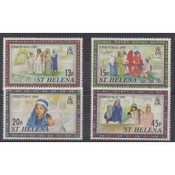 Sainte-Hélène - 1992 - No 573/576 - Noël