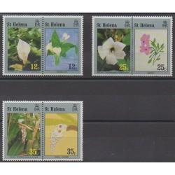 St. Helena - 1993 - Nb 609/614 - Flowers