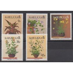 St. Helena - 1993 - Nb 581/585 - Flowers