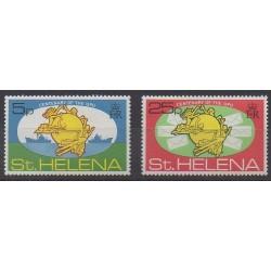 Sainte-Hélène - 1974 - No 269/270 - Service postal