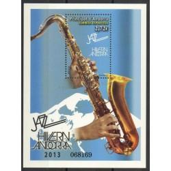 Andorre espagnol - 2013- No F 390 - Musique