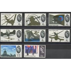 Great Britain - 1965- Nb 407/414 - Second world war