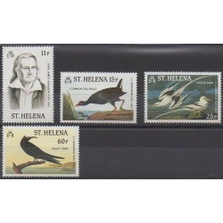 Sainte-Hélène - 1985 - No 425/428 - Oiseaux