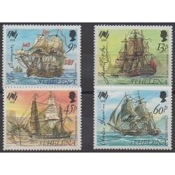 St. Helena - 1988 - Nb 479/482 - Boats
