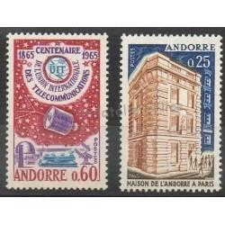 Andorre - Année complète - 1965 - No 173/174