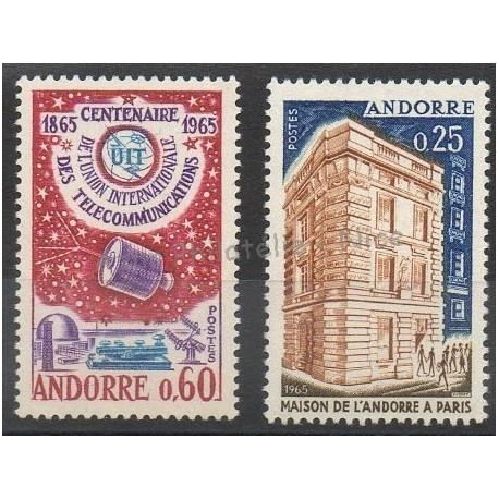 French Andorra - 1965 - Nb 173/174