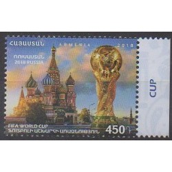 Arménie - 2018 - No 913 - Coupe du monde de football